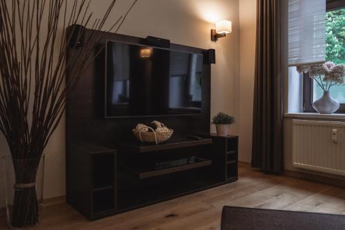 TV/Unterhaltungsangebot in der Unterkunft athome IHR Apartment