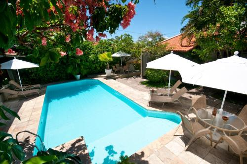 The swimming pool at or near Pousada Castanheira