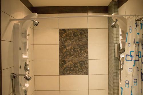A bathroom at Americana Hotel