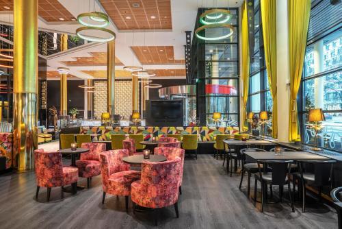 En restaurant eller et andet spisested på Thon Hotel Opera