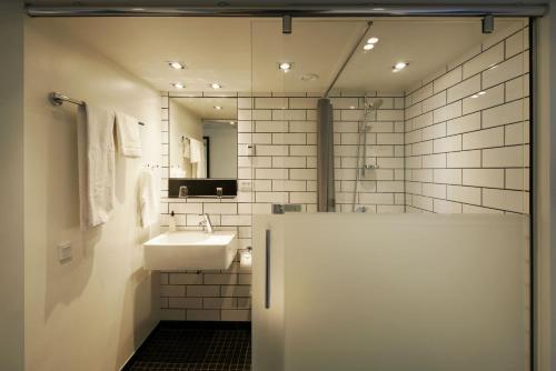 Køkken eller tekøkken på Milling Hotel Ritz Aarhus City