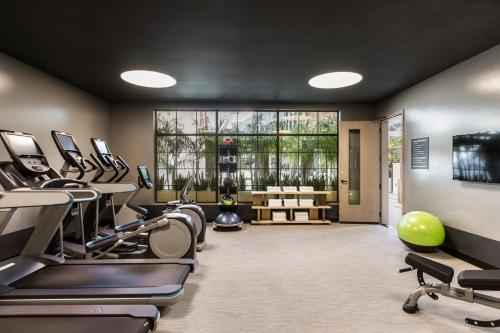 The fitness center and/or fitness facilities at Kimpton La Peer Hotel, an IHG Hotel