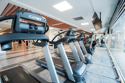 The fitness center and/or fitness facilities at Perdana Kuala Lumpur City Centre