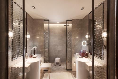 A bathroom at Conrad Guangzhou