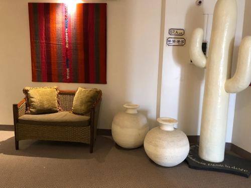 Un lugar para sentarse en Hotel Almería