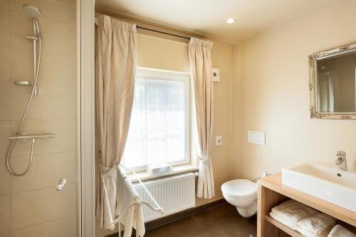 Een badkamer bij Logies Noorderlicht