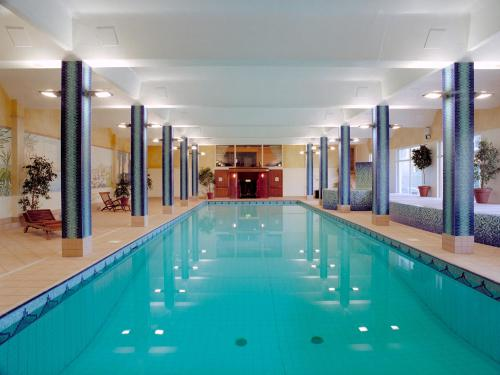 The swimming pool at or near Fitzpatrick Castle Hotel