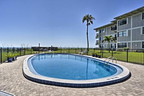 The swimming pool at or near Oceanfront Vero Beach Condo with Balcony Views!