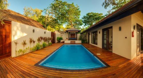 The swimming pool at or near Warwick Le Lagon Resort & Spa, Vanuatu