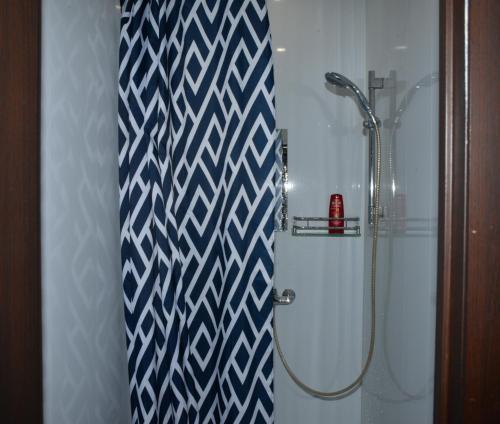 A bathroom at Квартира у КРЕМЛЯ