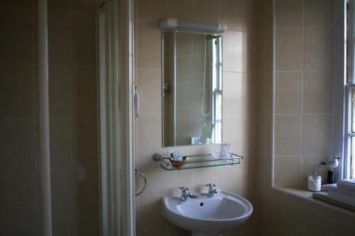 A bathroom at The Grove Falmouth