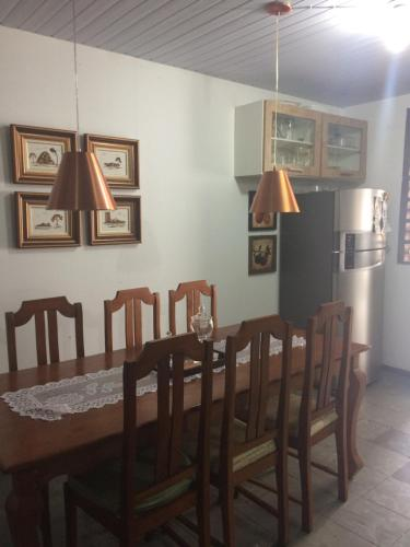 Dining area in the homestay