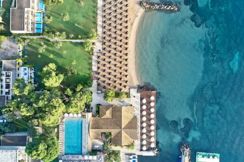 A bird's-eye view of Kontokali Bay Resort & Spa