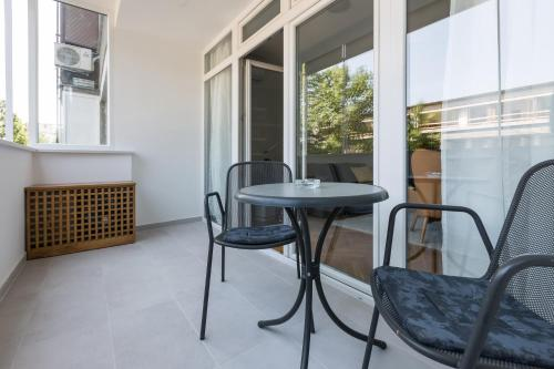 A seating area at Apartments Zagreb Point - Centar