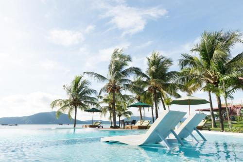 The swimming pool at or near The Ocean Residence Langkawi