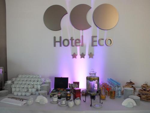 Restauracja lub miejsce do jedzenia w obiekcie Hotel Eco