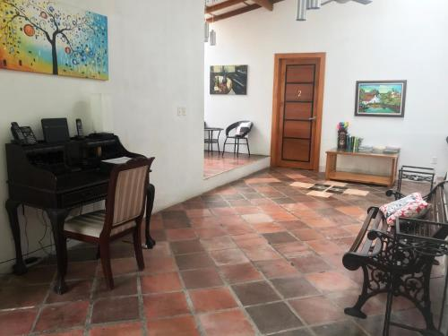Dining area at the bed & breakfast