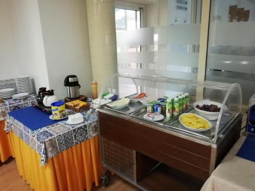 Una cocina o zona de cocina en Jardins da Ria