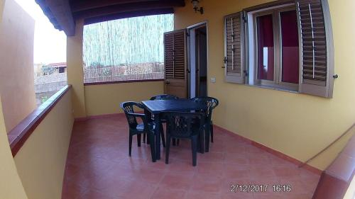A balcony or terrace at Villa Cala Creta