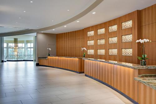 The lobby or reception area at Signia by Hilton Orlando Bonnet Creek