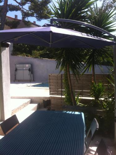 The swimming pool at or close to A deux et au Soleil !
