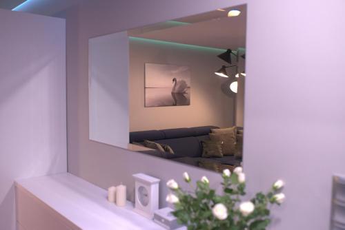 Łazienka w obiekcie Apartament Augustów SWAN