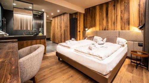 Letto o letti in una camera di Hotel Spol - Feel At Home