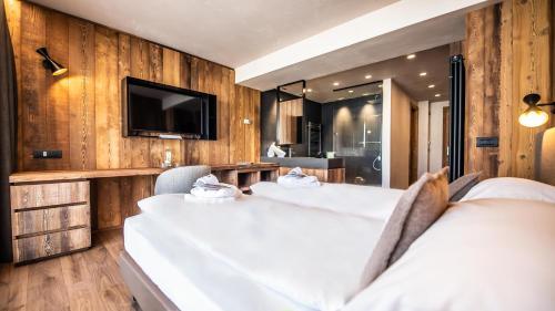 TV o dispositivi per l'intrattenimento presso Hotel Spol - Feel At Home