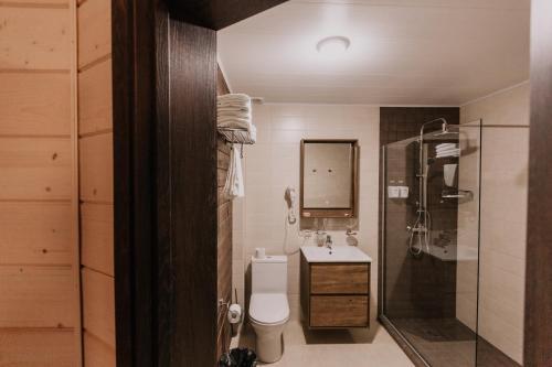 Ванная комната в Загородный клуб Жемчужина