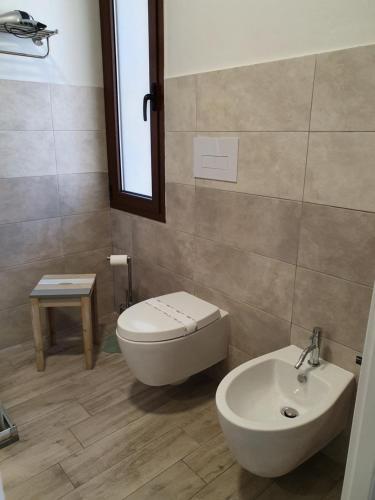 A bathroom at Terry's House