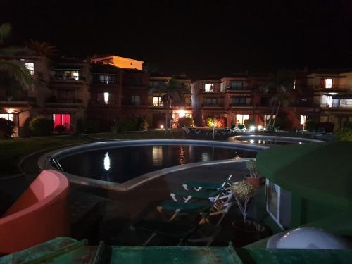 The swimming pool at or near RELAX ISLEÑO