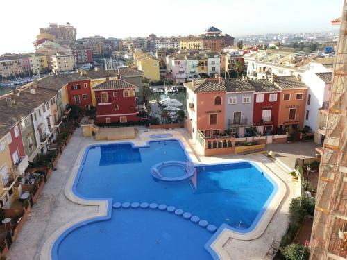Vista de la piscina de Apartamento PortSaplaya o alrededores