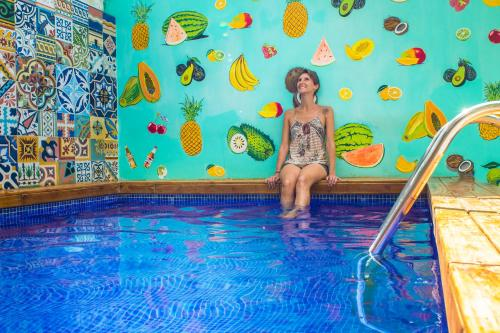 The swimming pool at or near Casa Del Pozo Boutique Hostel