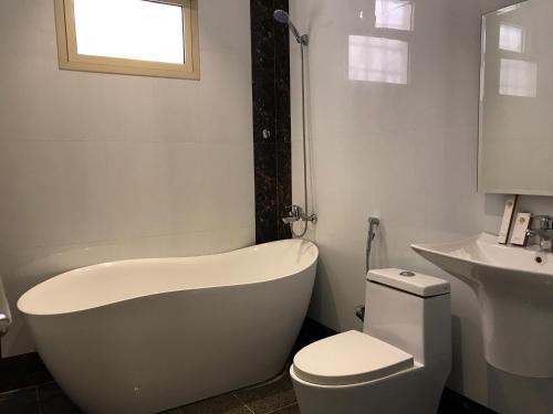 Um banheiro em Badeel