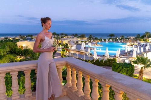 Вид на басейн у The Three Corners Fayrouz Plaza Beach Resort або поблизу