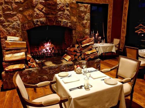 Restaurace v ubytování Park Hotel Popovicky