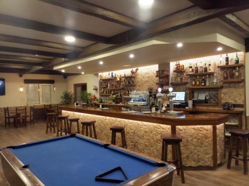 Area lounge atau bar di Hotel Arume