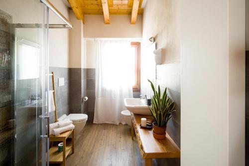 Koupelna v ubytování Locanda All'Avanguardia