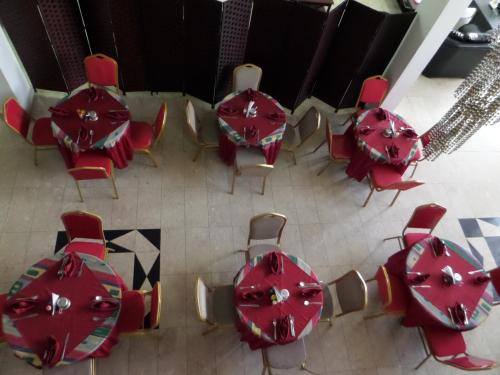 A restaurant or other place to eat at Sophia Hotel