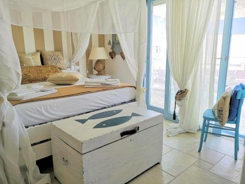 A bed or beds in a room at Le Terrazze