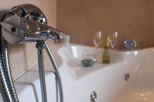 Un baño de Hotel Asturias