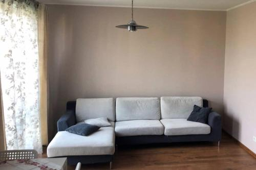 A seating area at Prestige 1-bedroom apartment close to downtown Riga