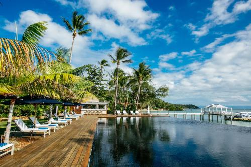 The swimming pool at or near Orpheus Island Lodge