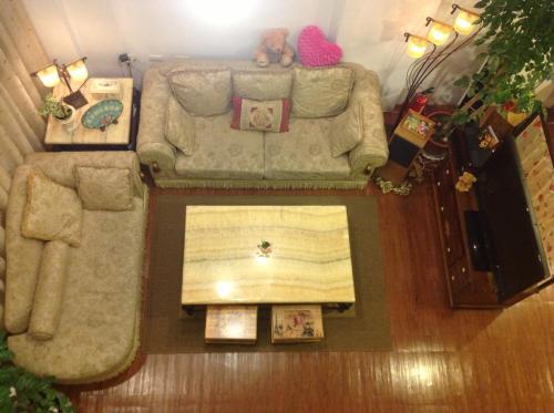 A seating area at Prince and Princess