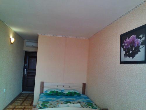 "Кровать или кровати в номере Gostievoi dom ""Dzhielip"""