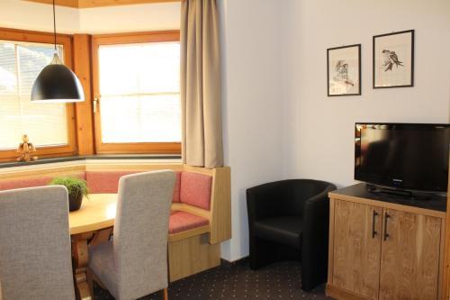 TV/Unterhaltungsangebot in der Unterkunft Appartements Lisa