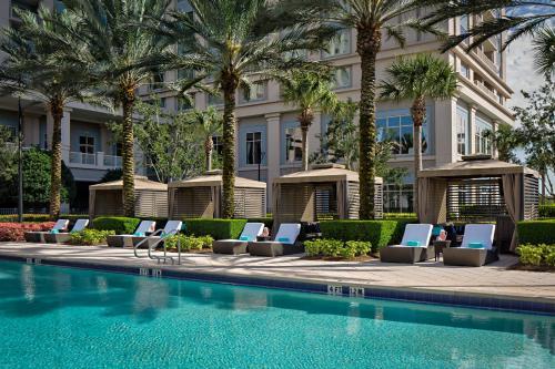 The swimming pool at or near Waldorf Astoria Orlando