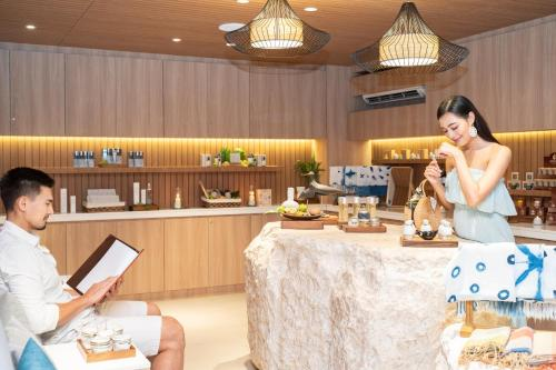 ห้องอาหารหรือที่รับประทานอาหารของ SYLVAN Koh Chang