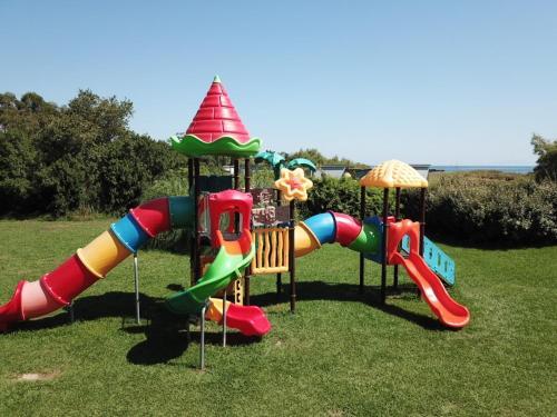 Children's play area at Village Vacances La Vallicella