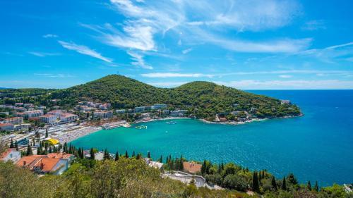 A bird's-eye view of Hotel Adriatic